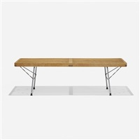 platform bench, model 4690 by george nelson & associates