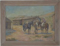 the milk creek ranch in bygone days, as memory serves by j. henry smith