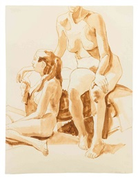 nudes by philip pearlstein