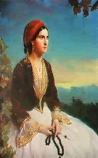 the maid of athens by clara fell