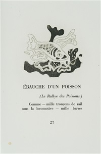 cinq sapates (bk by francis ponge w/5 works) by georges braque