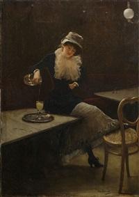 l'absinthe by jean béraud
