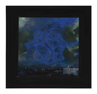 view over thompkins square park (tintoretto) by mark innerst