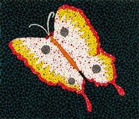 蝶 (butterfly) by yayoi kusama