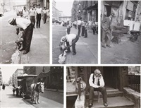 selected images (5 works) by helen levitt