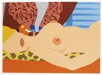 nude (for sedfre) by tom wesselmann