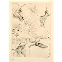 a sade (10 works) by hans bellmer