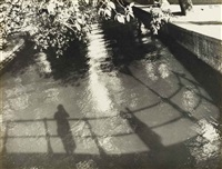 self portrait in amsterdam, graacht by ilse bing
