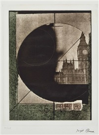 untitled (derby hat) (from prints for phoenix house) by joseph cornell