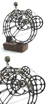 sculpture automobile by harry kramer