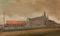 st. francis xavier's cathedral, wollongong by john campbell