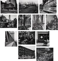 portfolio ii (12 works) by berenice abbott