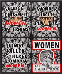 women (4 works) by gilbert & george