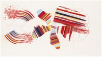miles * carousel * tide (3 works) (from america: the third century) by james rosenquist