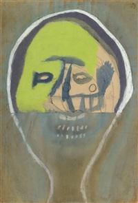 pastel mask by lajos vajda