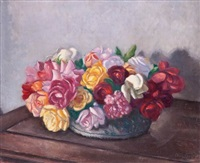 bouquet de fleurs by louis charlot