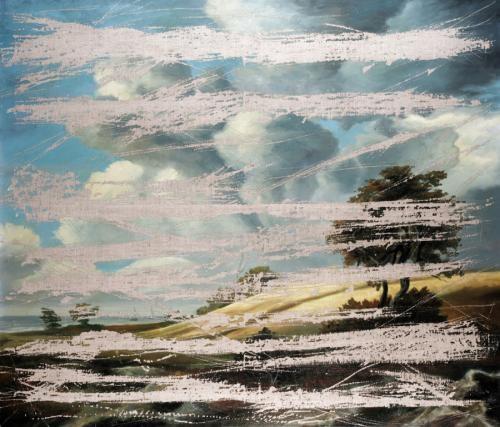 destroyed painting by igor kopystiansky