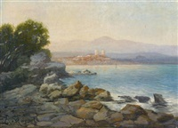paysage d'antibes by laurent adenot