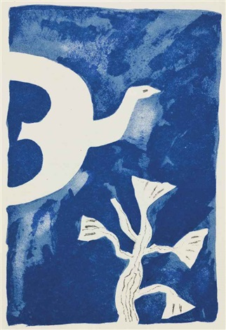 le tir à larc portfolio of 11 by georges braque