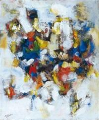 composition à fond blanc by tigran agadjanian