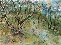 bush scene by john de burgh perceval