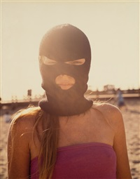 girl in mask by doug aitken