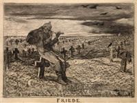 friede by friedrich august von kaulbach