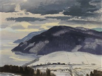 baie st. paul, pq, county charlevoix by george franklin arbuckle