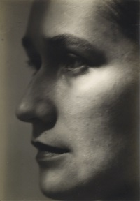 portrait of milena by josef sudek