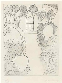 ithaque (from ulysses) by henri matisse