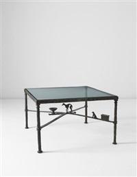 en souvenir de la lévrette bucky' (in memory of the dog bucky) low table by diego giacometti
