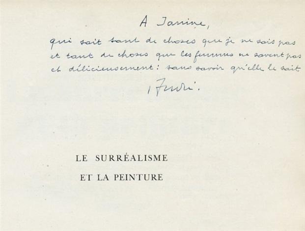 le surréalisme et la peinture bk w77 works by andré breton