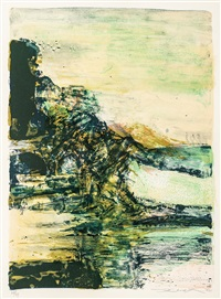 lithography by zao wou-ki