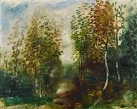 la forêt by maurice de vlaminck