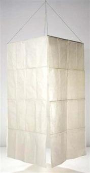 akari meditation room, model no 820-pl1 by isamu noguchi
