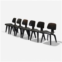 dcws, set of six by charles and ray eames