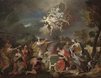 the sacrifice of noah by alessandro marchesini