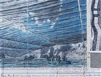 over the river (project for arkansas river, state of colorado college) fremont and chaffée by christo and jeanne-claude