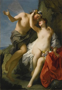 flora and zephyr by jacopo amigoni