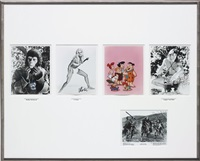 untitled (publicity) (four publicity) by richard prince