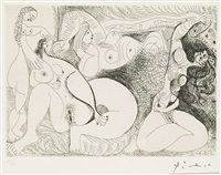 untitled, from: series 156 by pablo picasso