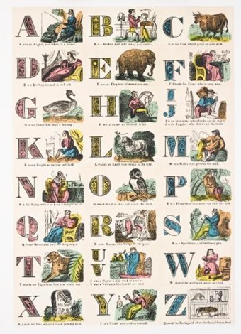 the alphabet series set of 26 by peter blake