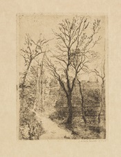 sentier à groenendael by james ensor
