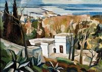 la villa abd-el-tif et la baie d'alger by georges le poitevin