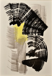 composition p1967-128 by hans hartung
