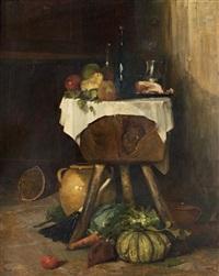 intérieur de cuisine aux fruits by camille flers