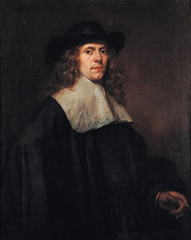 portrait dhomme au chapeau by frans hals the elder
