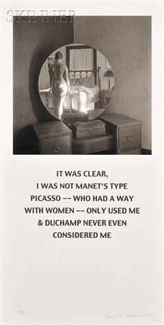 not manets type by carrie mae weems