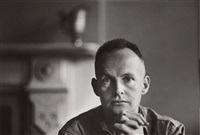portrait of henri cartier-bresson, new york by beaumont newhall