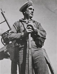 marinero del jaime i, 1936 by david seymour and robert capa